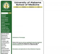 University of Alabama Birmingham School of Medicine
